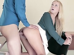Strong office porn play along sweet..