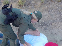 Two girls busted by border control and..