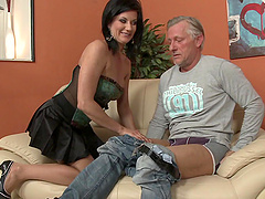 Nasty hot ass lady Olivia gets drilled..
