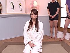 Moaning Japanese girl craves cumshots..
