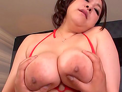 Domme Asian girl uses a guy for her..