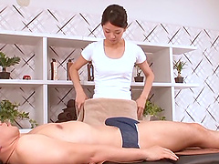 Appealing masseur girl from Asia lets..