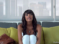 Gorgeous Chloe Amour on the casting..