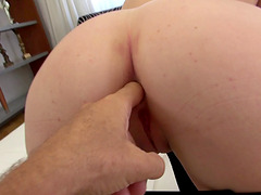 Incredible cock swallowing BJ and hard..