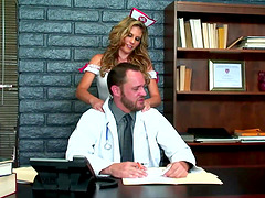 Hardcore Sex With A Sexy nurse in..