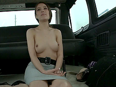 Anal on the BangBus With Gorgeous..