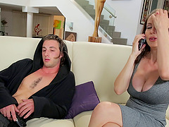 Horniest stepmom needs to do the cock..
