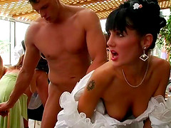 Nice tits amateur being slammed..