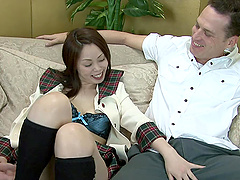 There's nothing that sexy Hitomi loves..