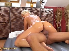 slippery big ass in action