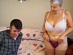 Granny Savana fucked with really hard..