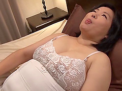 Japanese BBW milf is his personal fuck..