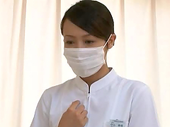 Kinky Asian Nurse Rides Her Patient's Cock