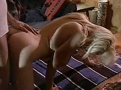 Horny Fucker Nails A Big Titty Blonde.