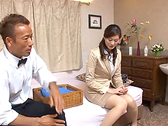 Hardcore video with sexy Japanese MILF..