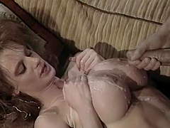 Big Jug Skank Titty Fucked & Shot With..