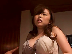 Horny Mature Asian Wife Takes On Two Hard Cocks