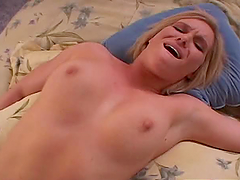 Lusty babe Naomi Cruise gets in a hot..