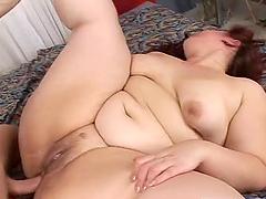 Huge and nasty fat milf Eva C gets..