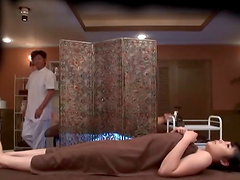 Japanese masseur decides to give chick..