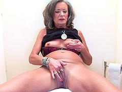 Horny granny immediately impales..