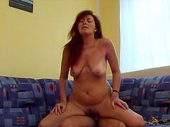 Fucking My Sexy Redhead Stepmom In..