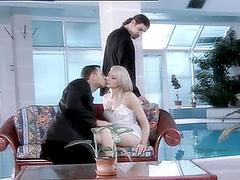 Super Hot Blonde Slut Blowjob and..