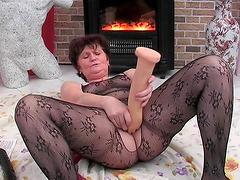 Big butt matured granny refined..
