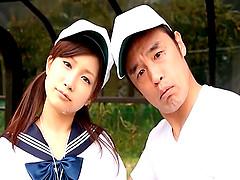 Raunchy Minami Kojima simply enjoys..