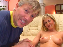 Nasty hot ass chicks gets drilled with..
