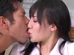 Horny Azusa Nagasawa loves fucking in..