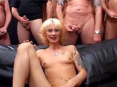 Skinny german MILFs first extreme..
