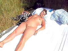 An unchaste french woman sleeps..