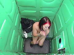 Porta Gloryhole Dennys works tricks..