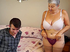 Mature chubby Christina and Sam Bourne..