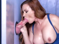 Jaw dropping gloryhole porn with busty..