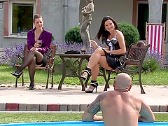 Nikki Sweet and Lia Raw in their very..