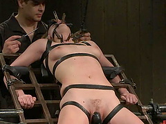 Hot BDSM Slut Fucked From Behind and..