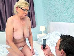 Fine tits granny smashed hardcore..
