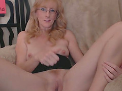 Hairy Ginger Mature Loves Fingering..