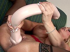 Alura Jenson's gaping cunt craves to..
