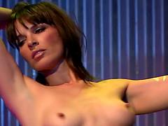 Dana Dearmond seduces a guy with her..