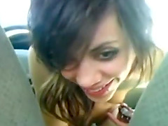 Ex Girlfriend Stuffs Pussy With Shifter