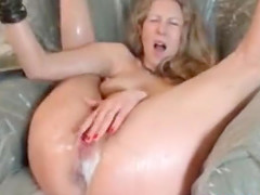 Hungry Curvy Milf Needs 2 Huge Toys To..