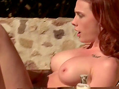 Chanel Preston gets lucky with a hot..