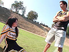 Dick craving cheerleader craves to..