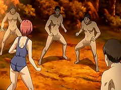 Virgin hentai swimsuit hot gangbang
