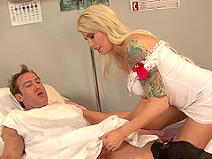 Nurse has the way to instantly cure a..