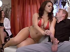 Staggering Keisha Grey guides the..