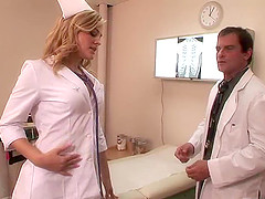 Slutty nurse Alexis Texas banged by a..